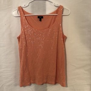 Talbots Tops - Talbots Medium Tank Top Blouse Sequin